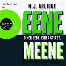 Arlidge, Eene Meene (Cover)