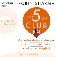 Sharma, Der 5-Uhr-Club (Cover)
