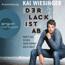 Wiesinger, Der Lack ist ab (Cover)