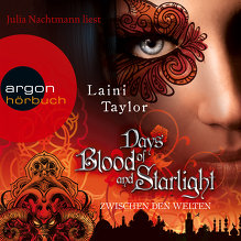 Taylor, Days of Blood and Starlight (Cover)