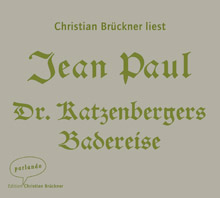 Jean Paul, Dr. Katzenbergers Badereise (Cover)